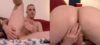 Sysco Pulling His Stiff Dick Until It Cums 1